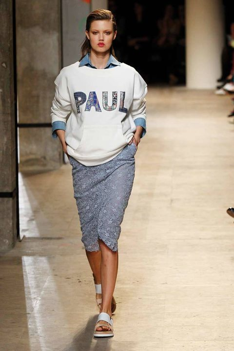 <p>Diseñador: Paul &amp; Joe. <strong>Paris Fashion Week</strong>.</p>