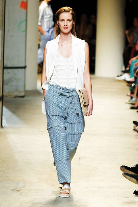 <p>Diseñador: Paul &amp; Joe. <strong>Paris Fashion Week.</strong></p>