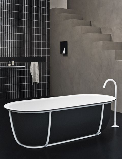 Product, Property, Wall, Floor, Bathtub accessory, Plumbing fixture, Rectangle, Plumbing, Composite material, Tile,