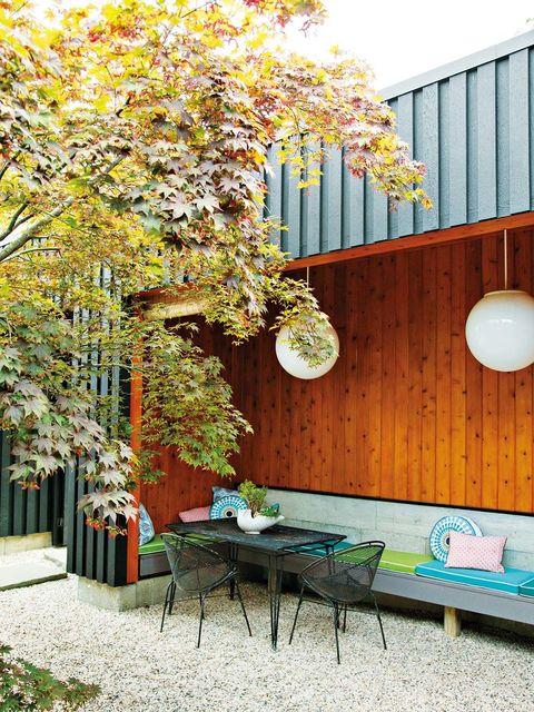 La casa Jonatha Adler: Comedor de exterior