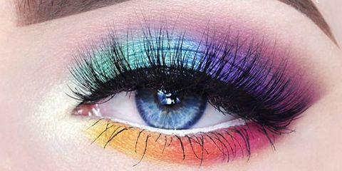 Blue, Brown, Eye, Green, Eyelash, Skin, Eyebrow, Purple, Violet, Colorfulness,