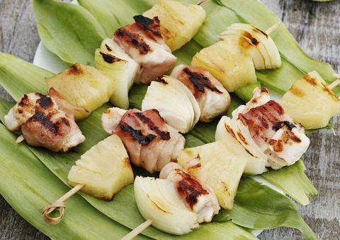 Green, Cuisine, Food, Finger food, Leaf, Brochette, Skewer, Ingredient, Recipe, Dish,