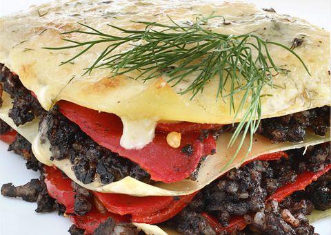 Cuisine, Food, Ingredient, Dish, Breakfast, Finger food, Sandwich, Leaf vegetable, Meal, Baked goods,