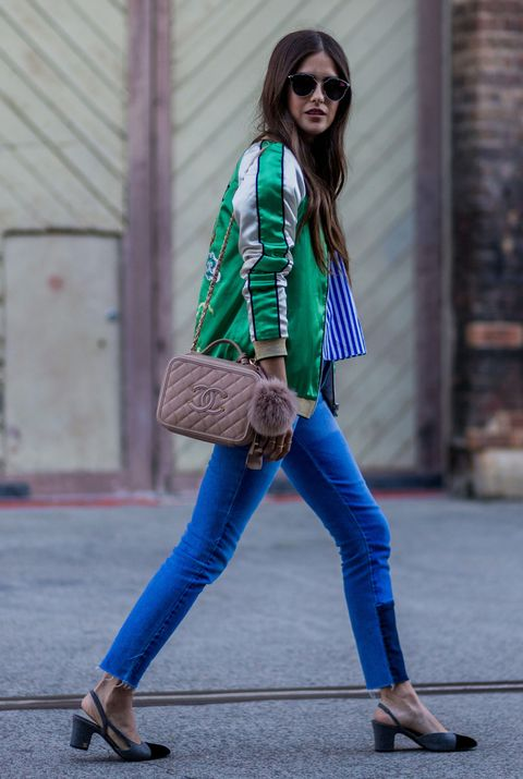 Clothing, Street fashion, Jeans, Cobalt blue, Blue, Electric blue, Fashion, Turquoise, Green, Footwear,