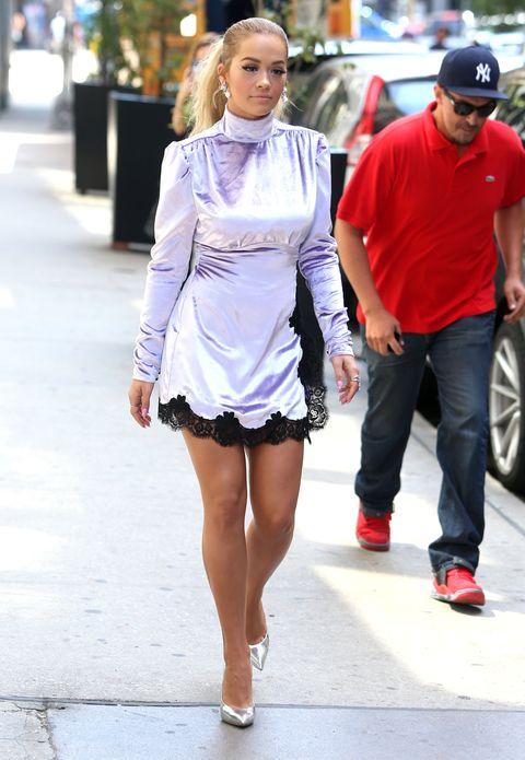 Singer Rita Ora in New York City, New York on August 25, 2016.