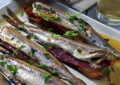 Food, Ingredient, Seafood, Serveware, Cuisine, Fish, Drink, Fish, Drinkware, Dishware,
