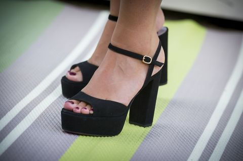 Toe, Joint, Sandal, Pink, Foot, Fashion, Tan, Beige, High heels, Leather,