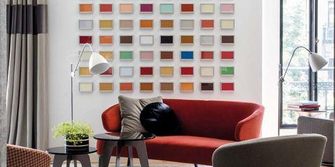 Diseño y arte en un piso de Madrid