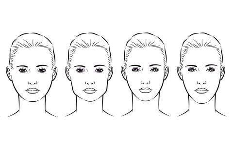 Lip, Cheek, Chin, Forehead, Eyebrow, Jaw, Organ, Black-and-white, Line art, Neck,