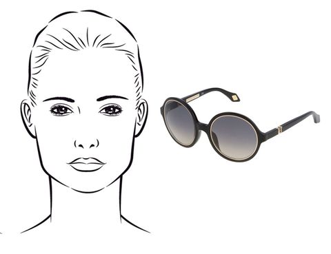 Eyewear, Vision care, Eyebrow, Goggles, Style, Line, Jaw, Personal protective equipment, Costume accessory, Sunglasses,