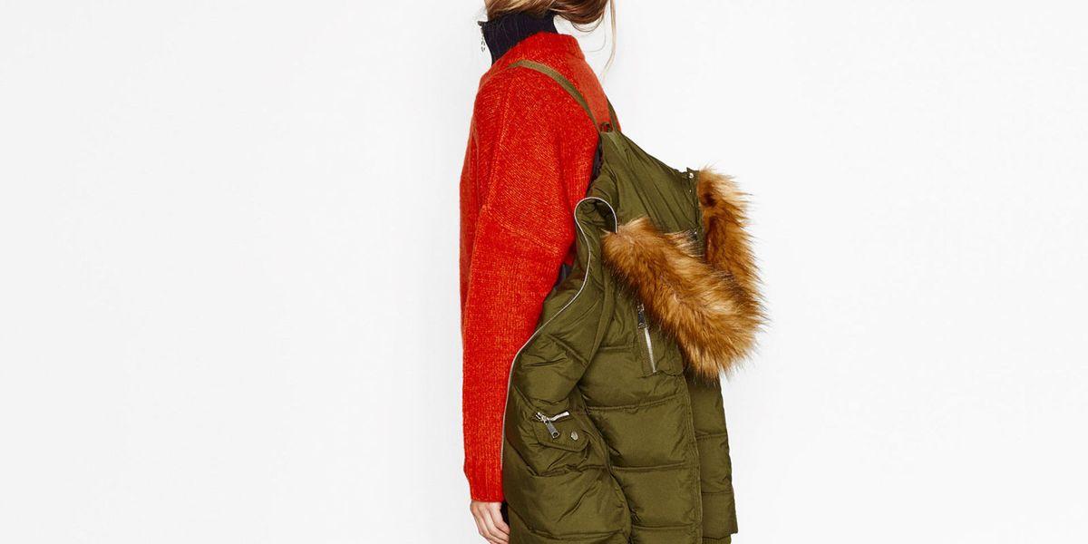 El abrigo con truco de Zara