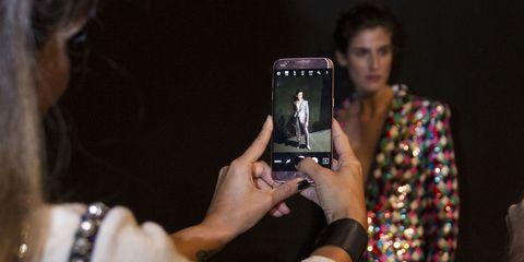 Fashion, Black hair, Mobile phone, Cool, Street fashion, Gadget, Portable communications device, Fashion design, Communication Device, Cameras & optics,