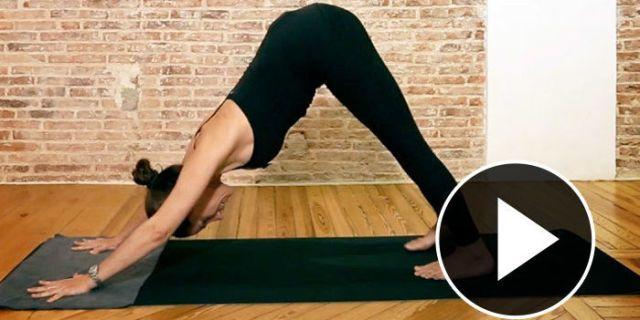 Yoga para un vientre plano
