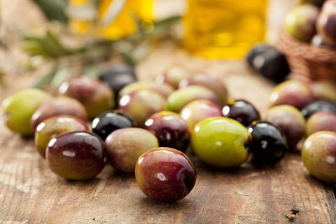 Natural foods, Fruit, Food, Olive, Plant, Superfood, Grape, Tree, Produce, Olive family,