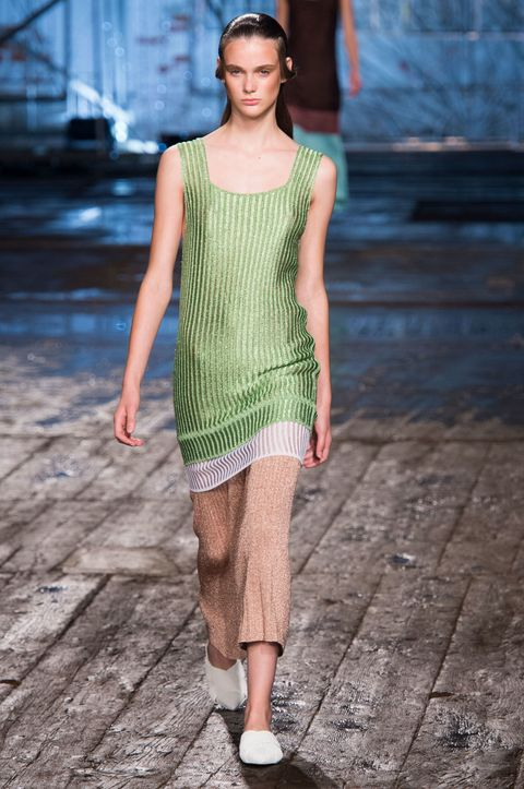 Clothing, Human body, Shoulder, Human leg, Joint, Standing, Dress, One-piece garment, Street fashion, Waist,