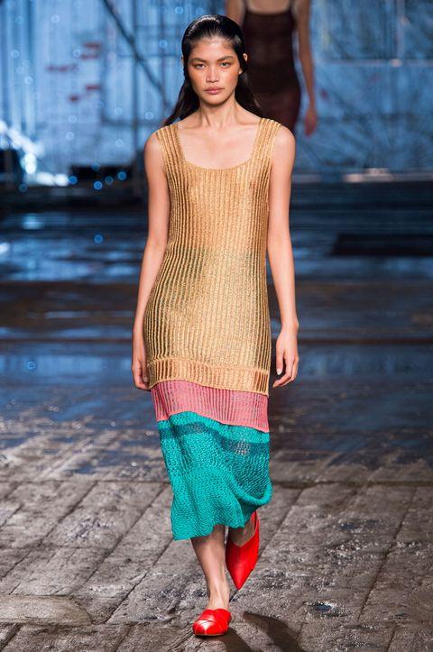 Clothing, Blue, Shoulder, Textile, Joint, Style, Street fashion, Pattern, Fashion, Neck,