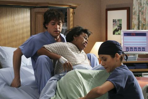 "<p>Izzie falls for a patient, Denny Duquette (Jeffrey Dean Morgan), who tragically dies after proposing to her. Derek's wife, Addison (Kate Walsh), joins the Seattle Grace staff, as does plastic surgeon Mark Sloan (Eric Dane), who was Derek's best friend until he had an affair with Addison. These jokesters! Callie Torres (Sara Ramirez) also hops on board, despite not having ever been in a relationship with Derek. Because there is no such thing as too much drama in Shondaland, Cristina gets pregnant, Bailey has a baby while her husband has brain surgery, Burke is shot and loses the use of his hand, and Meredith has to hold a grenade inside a patient before watching her bomb-squad savior (<em data-redactor-tag=""em"" data-verified=""redactor"">Friday Night Lights</em>' Coach Taylor/Kyle Chandler!) die in front of her. Then she has to put down her dog. Have a heart, Shonda.</p>"