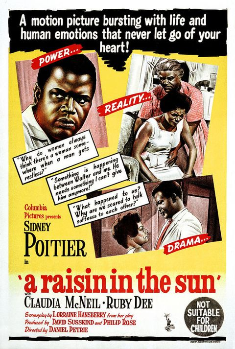 """<p>A heartbreaking tear-jerker of a movie, """"A Raisin in the Sun"""" tells the story of an African-American family that tries to improve their situation with an insurance payout from the death of the father. </p>"""