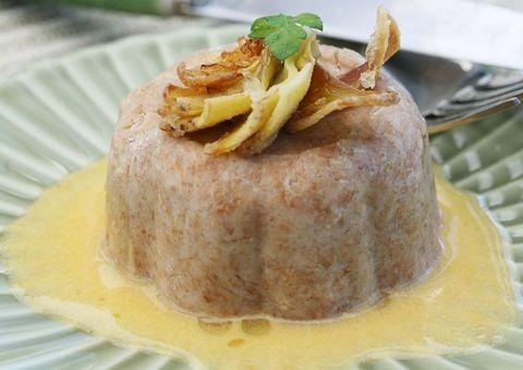 Food, Yellow, Cuisine, Ingredient, Dish, Dishware, Garnish, Recipe, Culinary art, Serveware,