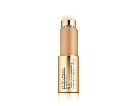 Brown, Amber, Cosmetics, Khaki, Beige, Lipstick, Metal, Peach, Silver, Cylinder,