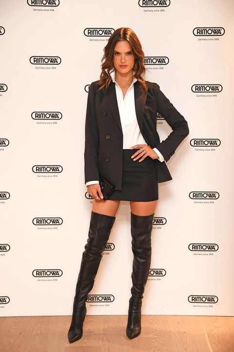 Clothing, Footwear, Sleeve, Collar, Outerwear, Style, Fashion model, Knee-high boot, Knee, Fashion,