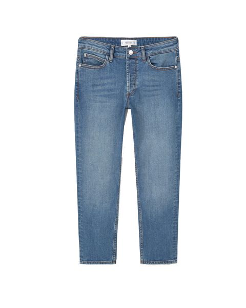 Blue, Product, Denim, Trousers, Jeans, Pocket, Textile, White, Electric blue, Fashion,