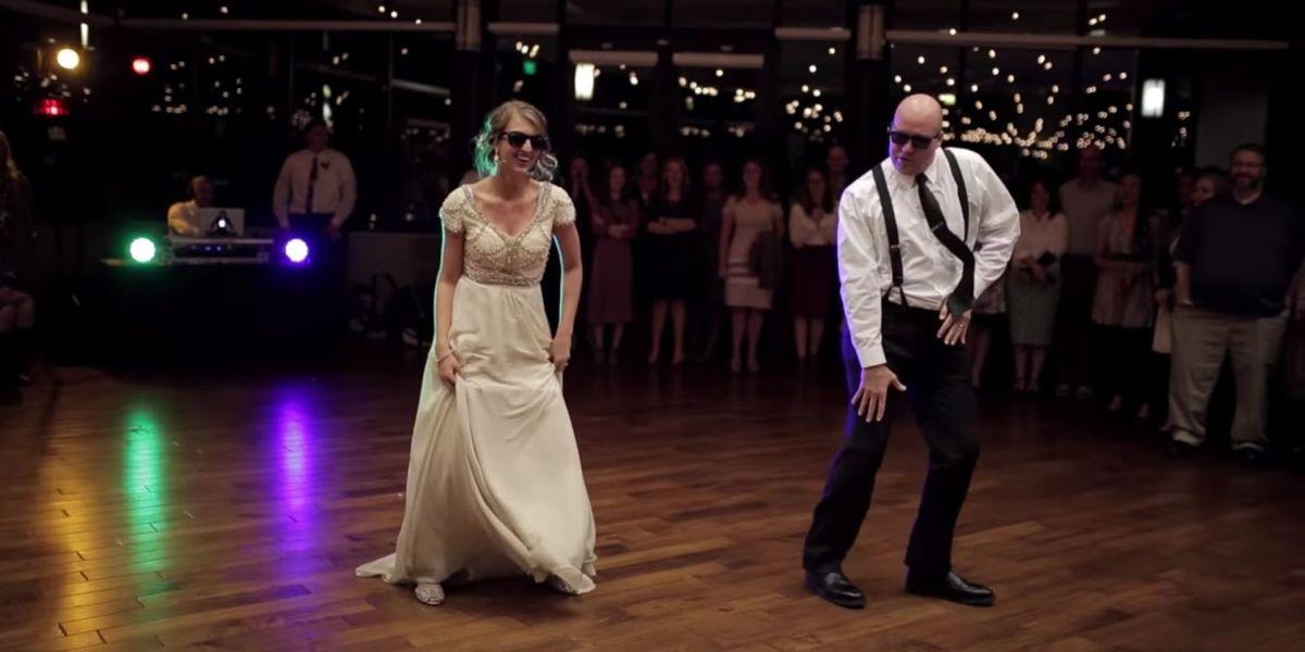 El baile de boda perfecto entre padre e hija