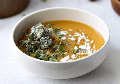 Food, Ingredient, Dish, Recipe, Cuisine, Serveware, Soup, Leaf vegetable, Stew, Condiment,