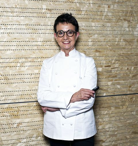 MILAN, ITALY - JUNE 15:  Chef Carme Ruscalleda from Spain poses at the pavilion of Spain during the Expo 2015 at Milan Rho Fiera on June 15, 2015 in Milan, Italy.  (Photo by Pier Marco Tacca/Getty Images)