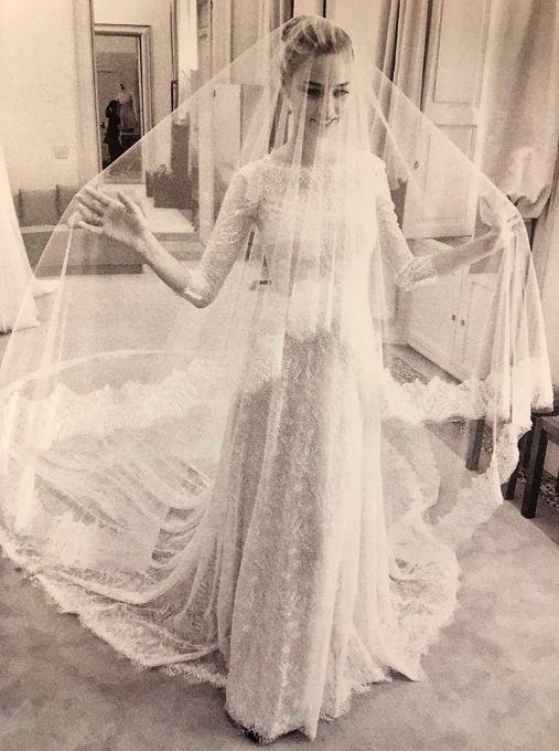 beatrice borromeo, comparte dos fotos privadas de su boda