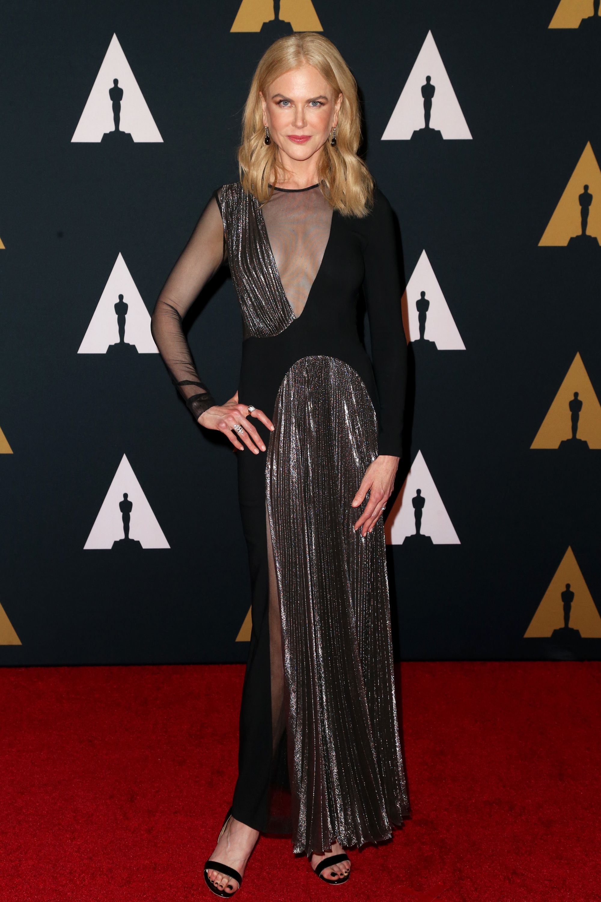 HOLLYWOOD, CA - NOVEMBER 12:  Actress Nicole Kidman attends the Academy of Motion Picture Arts and Sciences' 8th annual Governors Awards at The Ray Dolby Ballroom at Hollywood &amp&#x3B; Highland Center on November 12, 2016 in Hollywood, California.  (Photo by Frederick M. Brown/Getty Images)