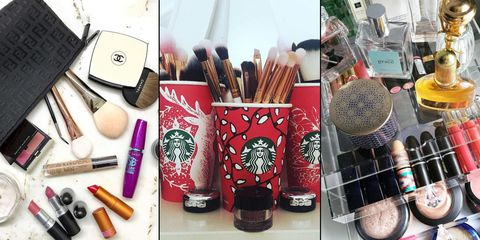084010c6a Siete ideas para organizar tu maquillaje