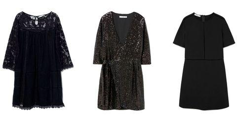 Product, Sleeve, Textile, Pattern, White, Style, Dress, Fashion, Neck, Black,