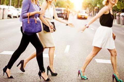 Clothing, Footwear, Leg, Human leg, Photograph, Street, Outerwear, Bag, Fashion accessory, Street fashion,
