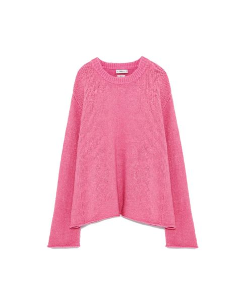Product, Sleeve, Textile, Pink, Magenta, Fashion, Pattern, Sweater, Maroon, Woolen,