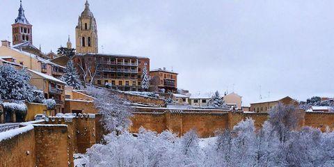 30 rincones de España bajo la nieve