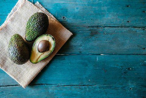 Wood, Teal, Turquoise, Produce, Hardwood, Still life photography, Fruit, Nut, Plank, Avocado,
