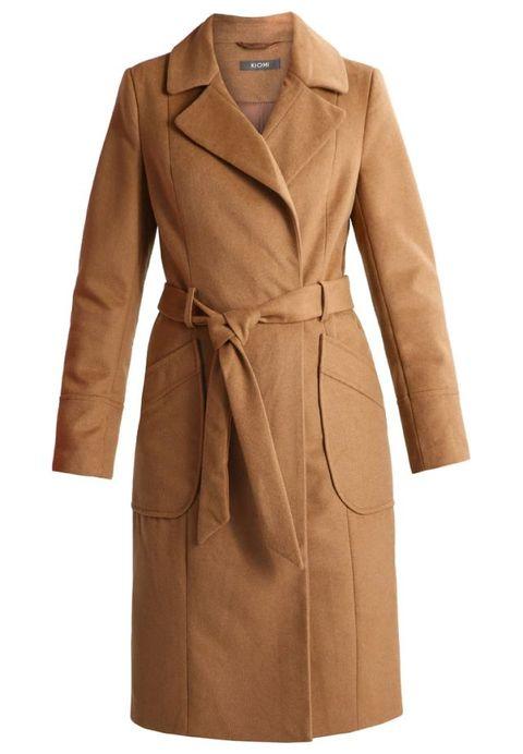 Clothing, Coat, Brown, Collar, Sleeve, Khaki, Textile, Outerwear, Style, Tan,