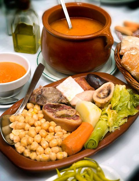 cocido de casa carola, madrid