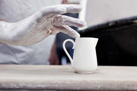 piezas de porcelana