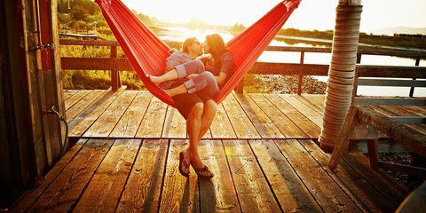 Hammock, Wood, Comfort, Leisure, Happy, People in nature, Summer, Sunlight, Sitting, Hardwood,