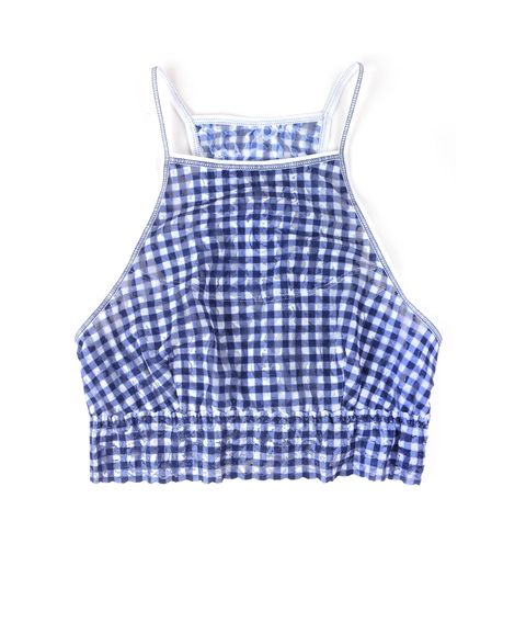 Blue, Product, White, Pattern, Baby & toddler clothing, Electric blue, Cobalt blue, One-piece garment, Sleeveless shirt, Day dress,