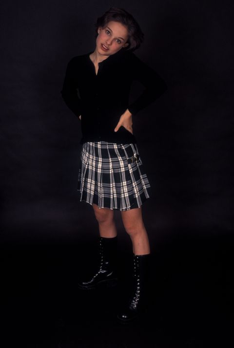 Plaid, Black, Tartan, Kilt, Clothing, Pattern, Fashion, Standing, Design, Textile,