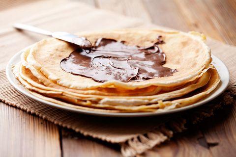 Dish, Food, Cuisine, Ingredient, Crêpe, Pancake, Pannekoek, Flatbread, Baked goods, Recipe,