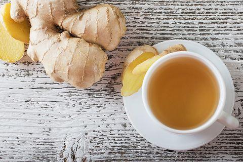 Food, Ingredient, Dish, Ginger, Cuisine, Breakfast, Croissant, Produce, Drink, Lemon,