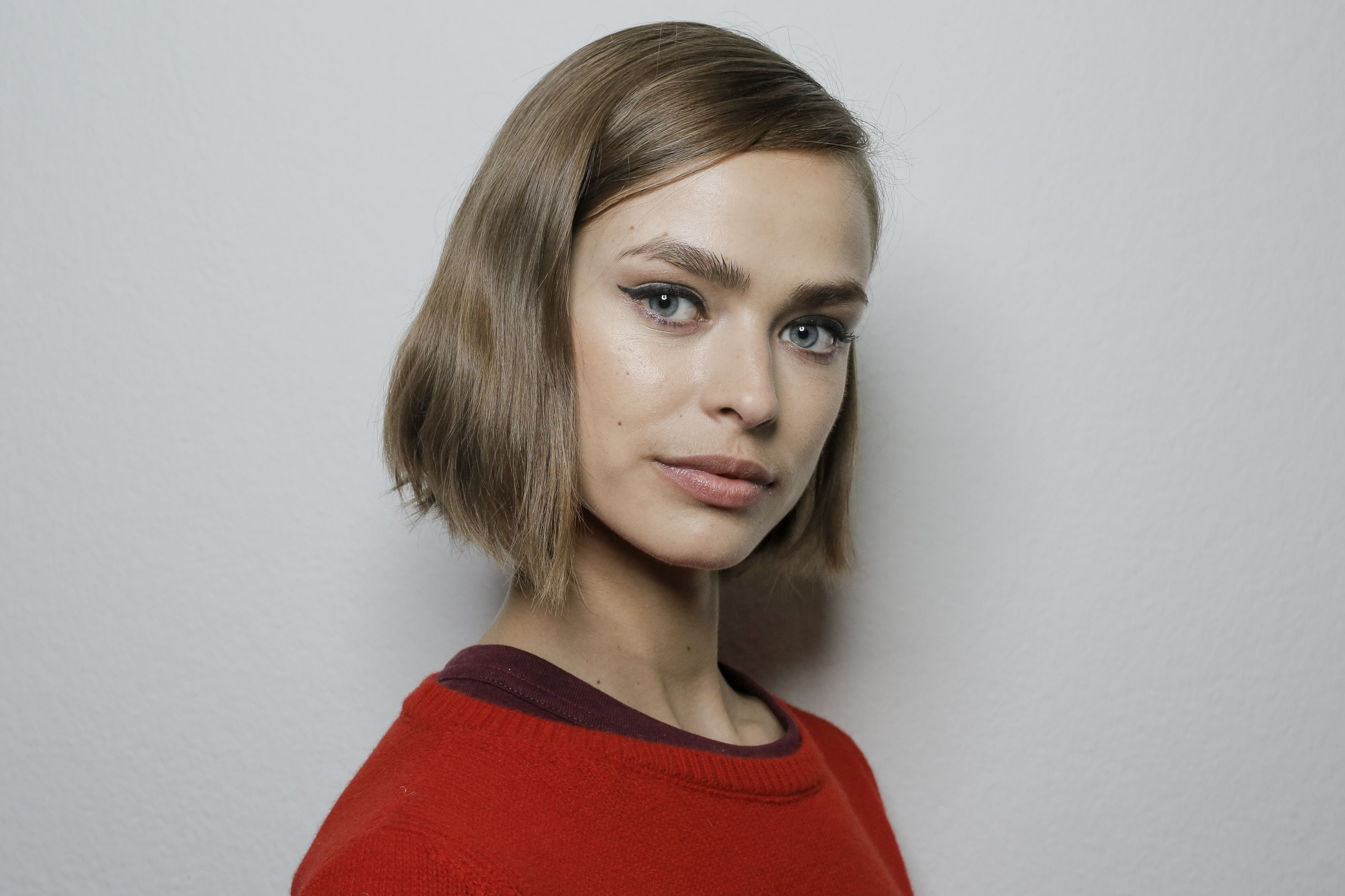 Corte de cabello punta de lanza