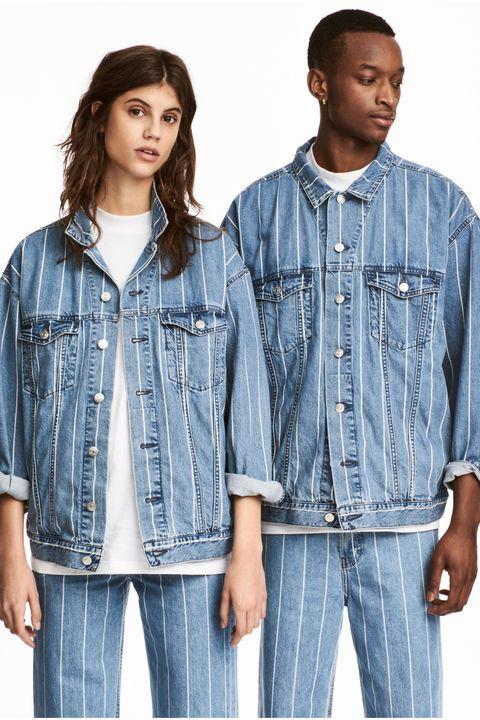 Clothing, Denim, Jeans, Outerwear, Textile, Jacket, Sleeve, Pocket, Plaid, Top,