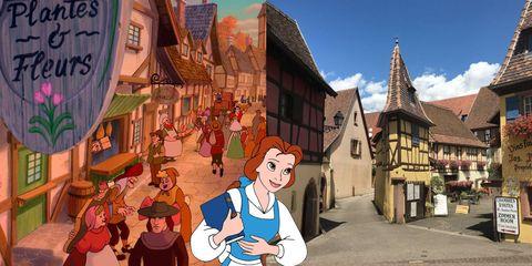 25 localizaciones reales de las películas de Disney