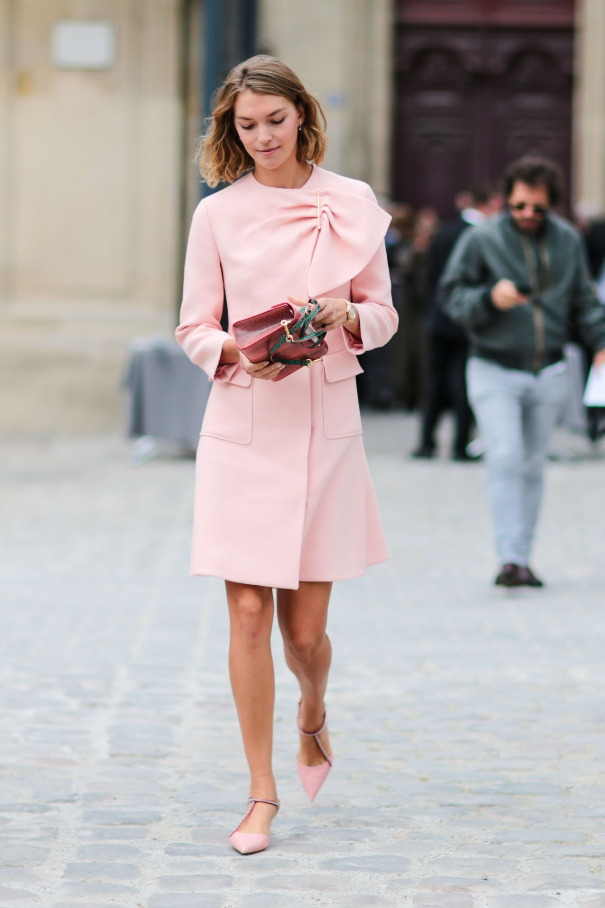 Boda vestido rosa
