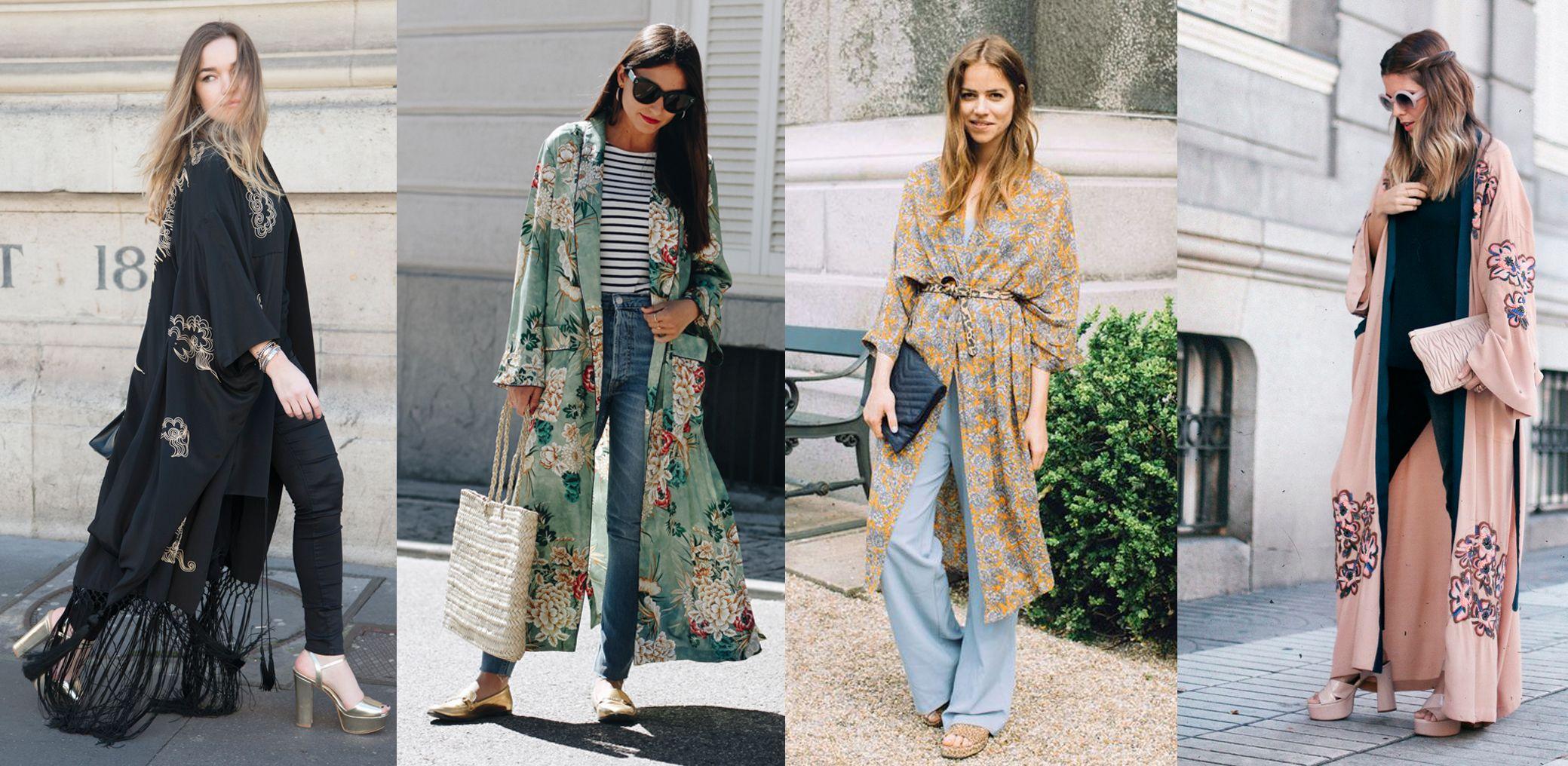 21a3350fee 30 buenas ideas para llevar un kimono (muy) largo